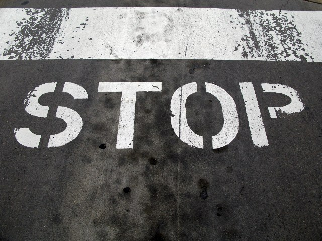 STOP sign web