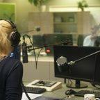 Express FM interviewer speaking with Aurora New Dawn