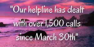 Aurora helpline has taken over 1,500 calls