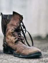 A_military_boot